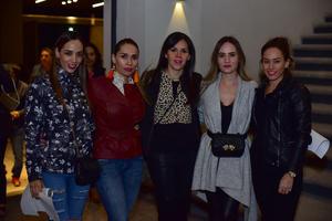 Tatiana, Caro, Gaby, Flor y Diana