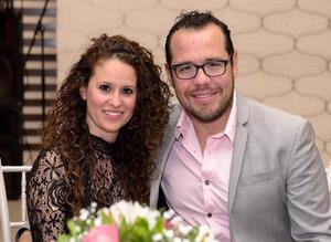 Adriana Ledesma y Diego Medellin