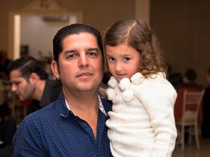 Paco Ledesma y Luciana Aguilera