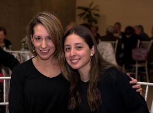 Pamela Puentes y Martha Aguilera