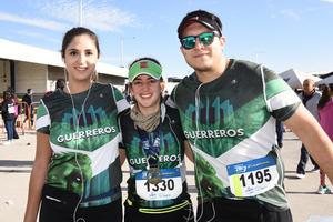 Denisse, Marifer y Hernan