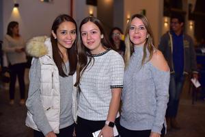 Fernanda, Angela y Veronica