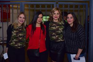 Viridiana, Karla, Denisse y Paola