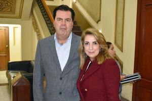 Jose Luis y Leticia