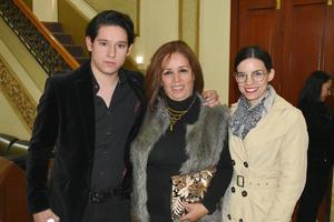 Memo, Laura y Lucía