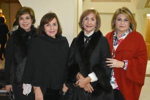 Susana, Alejandra, Bertha Aurora e Ivonne