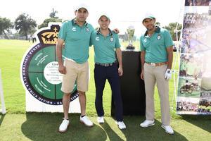 Mauricio Villalobos, Jose Riestra y Alejandro Irarragorri