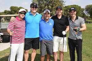 Toño, Gerardo, Jorge, Fernando y Memo