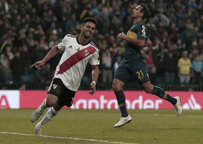 Martínez selló la victoria de River Plate...