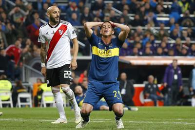 Boca Juniors vio coronarse a su acerrimo rival frente a ellos.