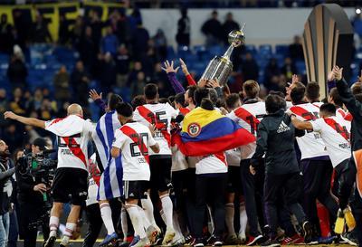 Al fin, River Plate pudo alzar la Copa Libertadores.