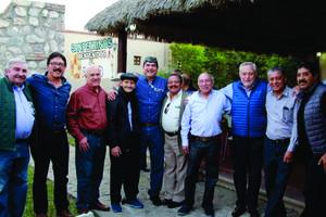 10122018 AMIGOS.  Dago, Miguel, José, Emilio, Neto, Mario, Fernando, Nono, Lalo y Jorge.