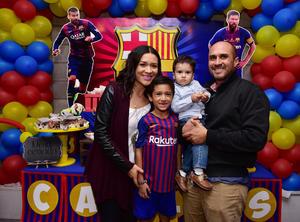 09122018 MUCHAS FELICIDADES.  José Carlos en su fiesta por sus tres años de vida.