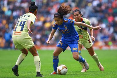 El equipo femenino de Águilas del América fue incapaz de aguantar la ventaja de 2-0 y Tigres de la UANL le sacó el empate 2-2, esto en el partido de ida por la final del Torneo Apertura 2018 de la Liga MX Femenil, disputado en el estadio Azteca, que registró buena entrada.