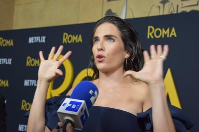 Karla Souza fue actriz invitada en el lanzamiento de la nueva entrega de Cuarón.