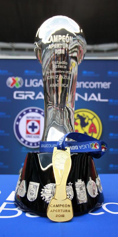 El trofeo de la Liga MX se disputará en dos partidos que se celebrarán en el Estadio Azteca.