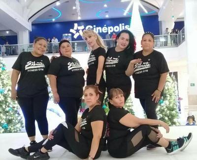 13122018 Grupo de damas Silueta Fitness.