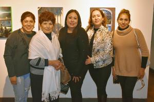 13122018 EN EXPO.  Paty, Pina, Salomé, Yadira y Laura.