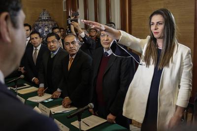 La medallista olímpica de Atenas 2004 Ana Gabriela Guevara asumió de manera oficial el cargo de directora de la Comisión Nacional de Cultura Física y Deporte (Conade), con lo cual pasa a la historia como la primera mujer en dirigir ese organismo.