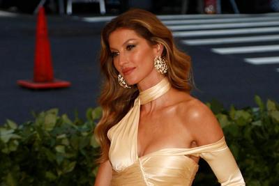 ...también la brasileña Gisele Bundchen.