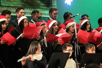 Este lunes la Academia presentará su último concierto de temporada navideña y del año.