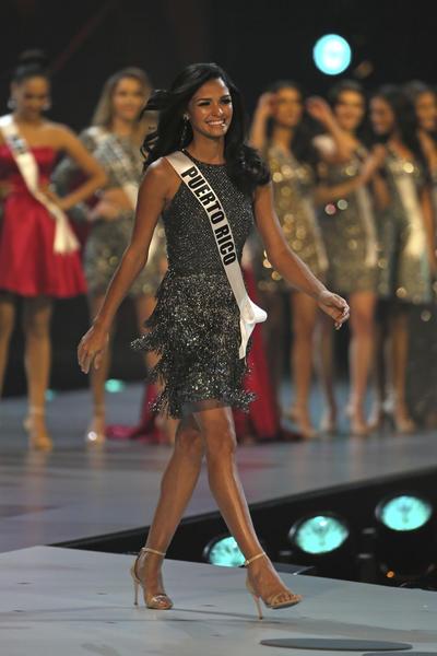 Miss Puerto Ric,  Kiara Ortega, fue colocada entre las 5 finalistas.