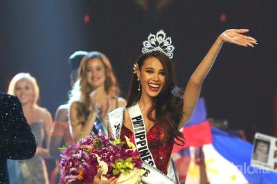 Catriona Gray, Miss Filipinas se coronó como Miss Universo 2018.