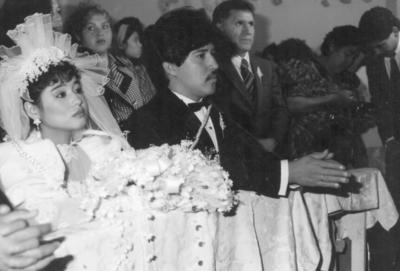 16122018 Marisol Rosales y José Plata el 21 de diciembre de 1990.
