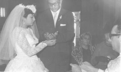 16122018 Juana Rocha y Daniel Salas en 1962.