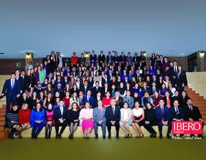 16122018 Alumnos egresados de Licenciatura y Maestría de la Universidad Iberoamericana Torreón Generación Otoño 2018. La ceremonia se llevó a cabo en el Gimnasio Auditorio de la universidad, contando con la presencia de autoridades académicas y familiares de los graduados.