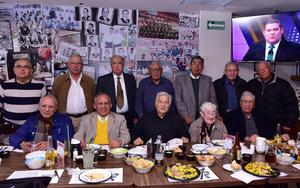 16122018 REENCUENTRO.  Posada de ex alumnos de la UNAM.