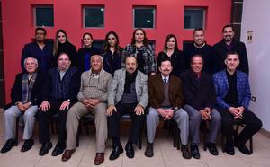 16122018 POSADA.  Integrantes del Colegio de Otorrinolaringología de La Laguna.