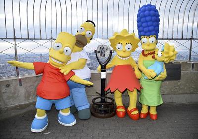 Los Simpsons cumplen 30 años al aire