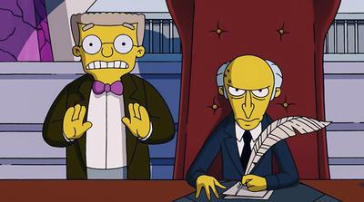 La trama se centra en el acontecer diario de Los Simpsons.