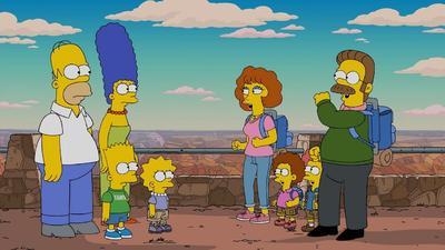 Dicha serie animada es protagonizada por Homero J. Simpson, Margge Simpson y sus hijos Bart, Lisa y Maggie.