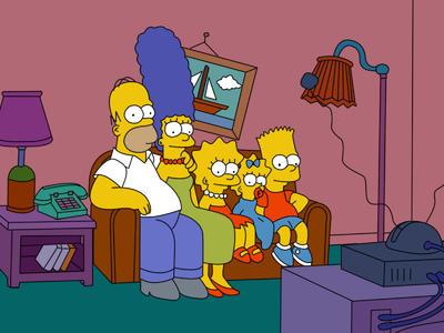 Los Simpsons están de fiesta.