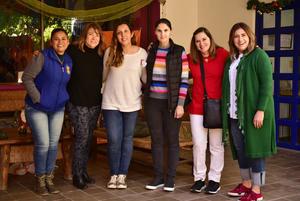 18122018 Graciela, Gabriela, Susana, Cecilia, Beatriz y Marcela.