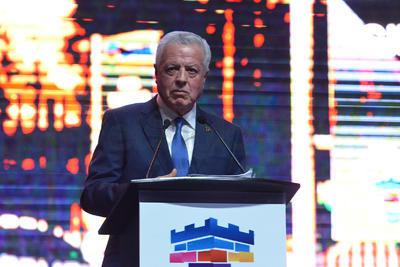 El alcalde de Torreón, Jorge Zermeño, rindió su Informe de Gobierno 2018.