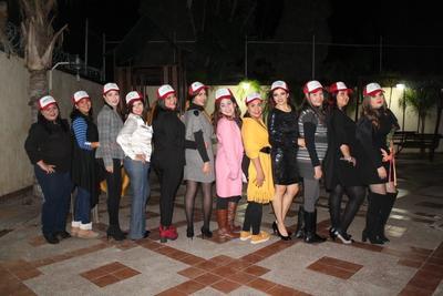 20122018 Marlene, Guadalupe, Gaby, Karla, Ilsse, Laura, Rita, Flor, Marie Ann, Cynthia, Flor y Yadira.