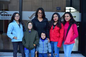 20122018 Karina, Diego, Isabel, Cristian, Hanna y Karina.