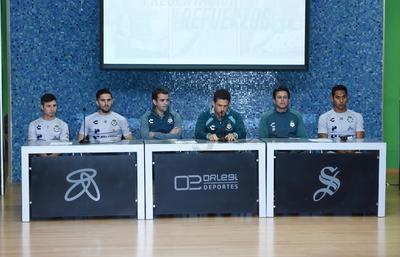La presentación se hizo en el auditorio Orlegi Deportes de Territorio Santos Modelo.
