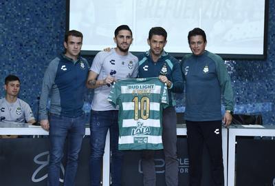 Valdés llevará el número 10 en su espalda.