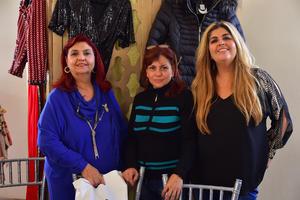 Alba, Susy y Yadira