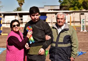 Mercedes Martinez Guerrero, Fernando Cisneros Orduno y Fernando Cisneros Baron