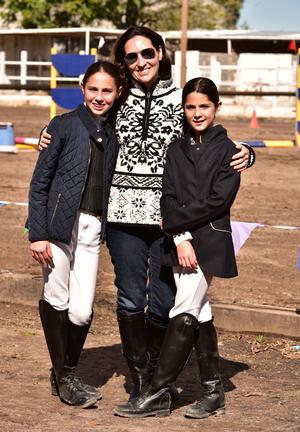 Regina, Mariana y Sofia