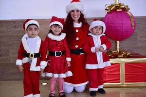 24122018 Santiago, Leonel, Luciana y Miss Cristy.