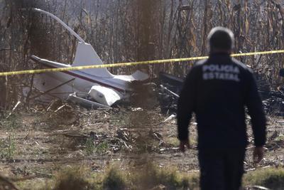 La aeronave se desplomó en su trayecto a Ciudad de México.