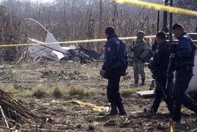 Un accidente aéreo cobró la vida de la gobernadora de Pueba y su esposo, también exgobernador de la entidad, Martha Érika Alonso y Rafael Moreno Valle.
