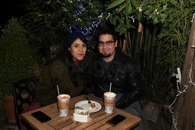 Raquel Pescador y Aldo Valencia.