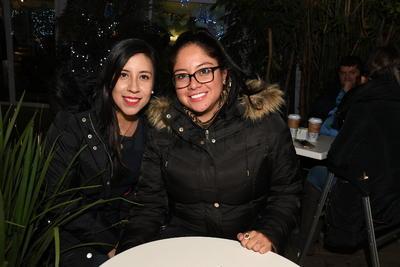 Laura Guerra y Montserrat Chávez.